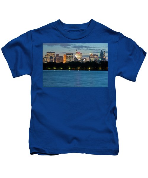 Great Pond Skyline Kids T-Shirt