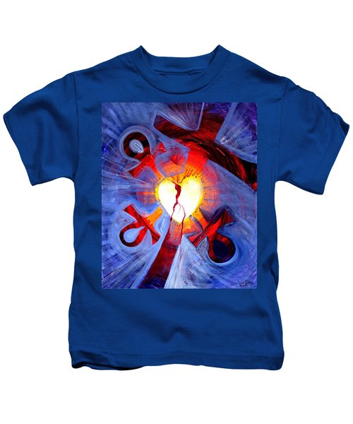 Love - In Three ... For All Kids T-Shirt