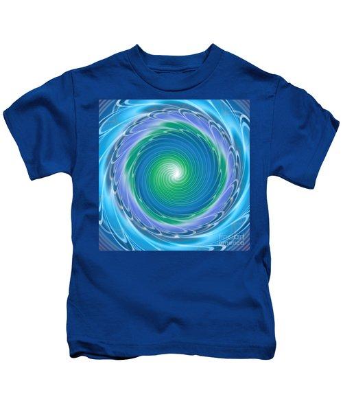 Mandala Spin Kids T-Shirt