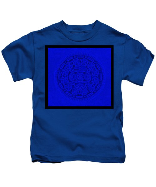 Oreo In Blue Kids T-Shirt