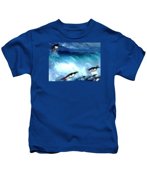 Penquin Play Kids T-Shirt