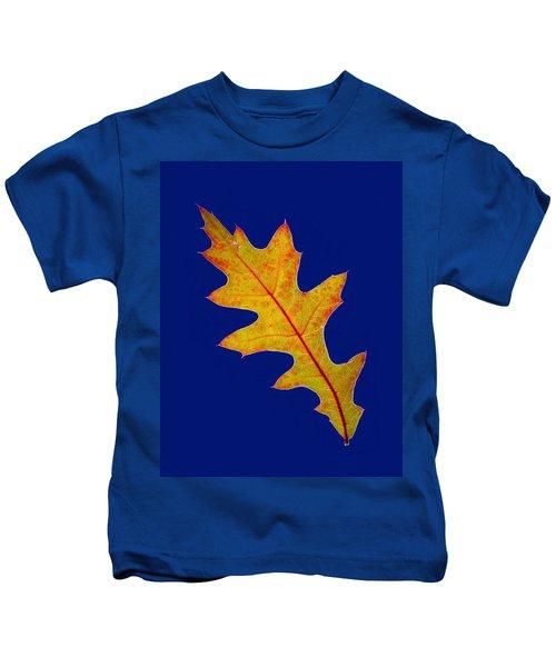 Pin Oak Leaf Kids T-Shirt