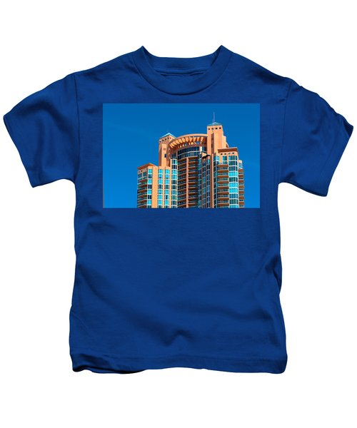 Portofino Tower At Miami Beach Kids T-Shirt