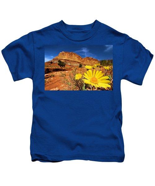 Rainbow Garden Kids T-Shirt