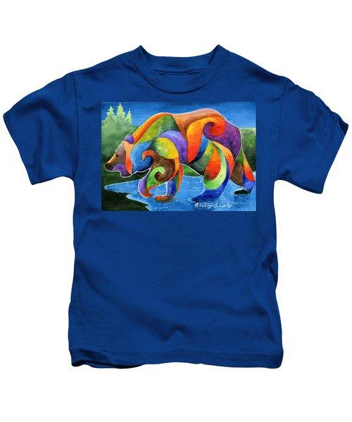 Zen Bear Kids T-Shirt