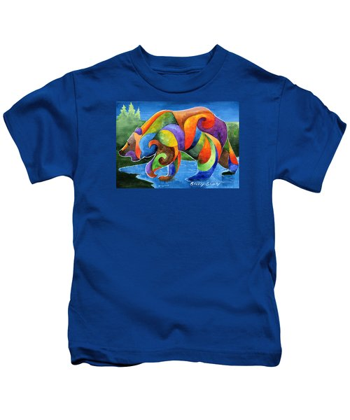 Zen Bear Kids T-Shirt