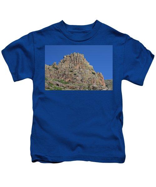 Mountain Scenery Hwy 14 Co Kids T-Shirt
