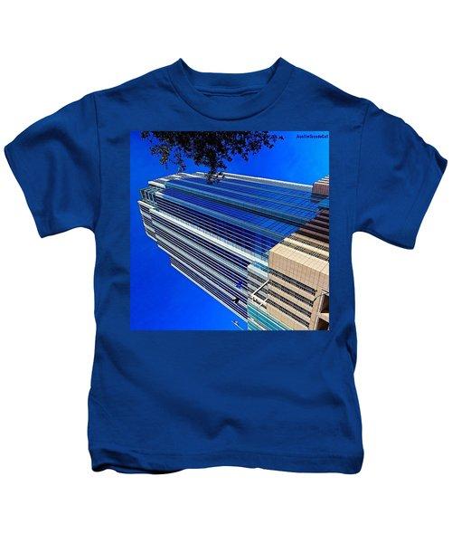 #blue Blue Tuesday.  #bluesky And Blue Kids T-Shirt