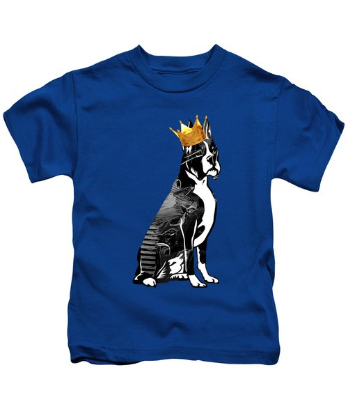 Boxer With Crown Collection Kids T-Shirt