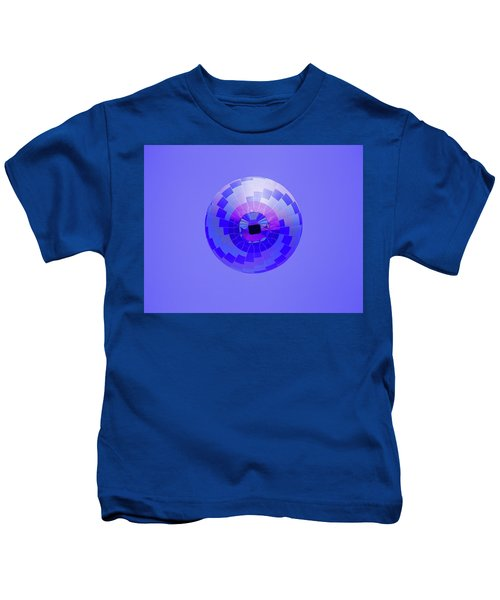Colorful Abstract Hot Air Balloon Kids T-Shirt