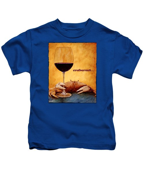 Crabernet... Kids T-Shirt