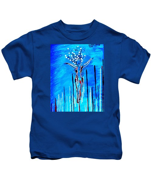 Dinka Dame - South Sudan Kids T-Shirt