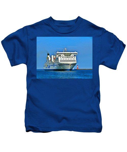 Ferry - Baltic Sea Kids T-Shirt