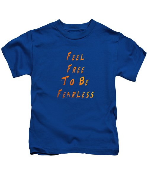 Free To Be Fearless Kids T-Shirt
