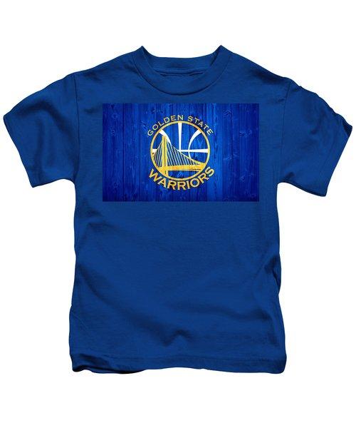 Golden State Warriors Door Kids T-Shirt