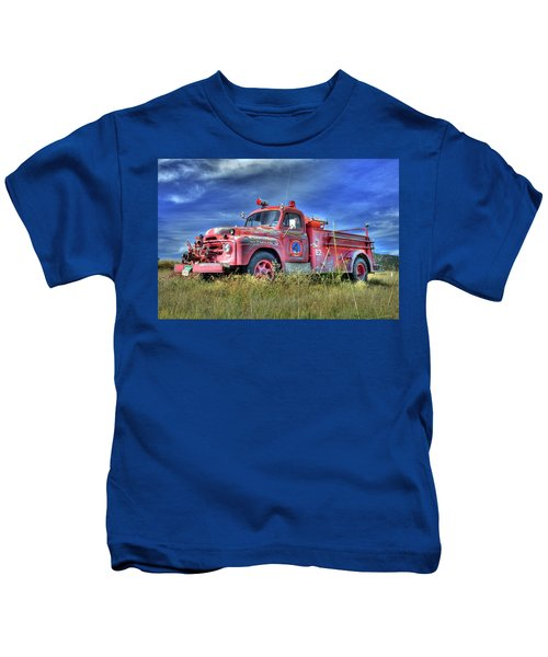 International Fire Truck 2 Kids T-Shirt