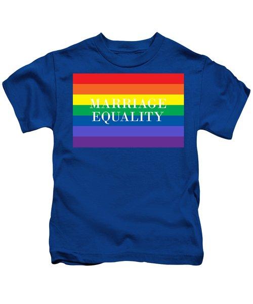 Marriage Equality Kids T-Shirt