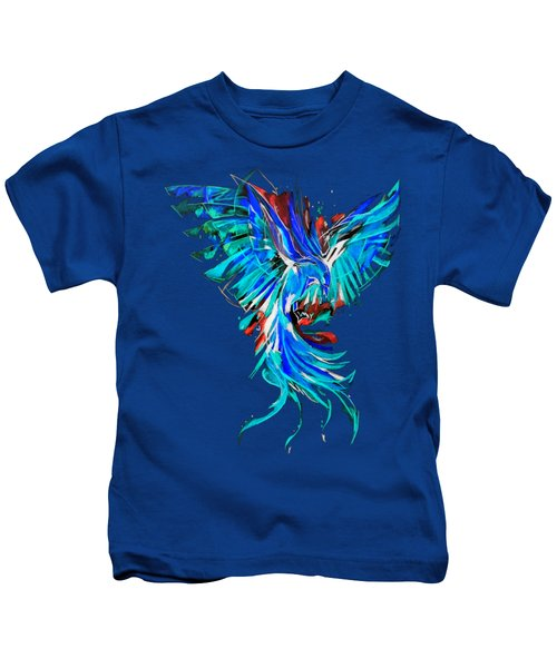 Phoenix Kids T-Shirt by Adriano Diana