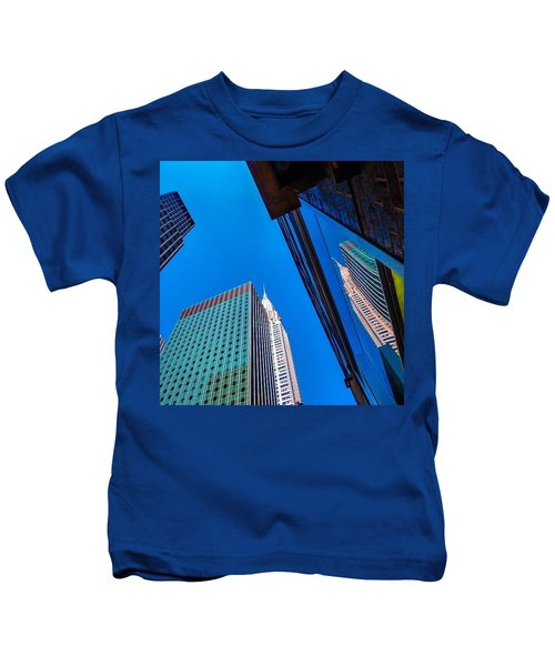 Photoshopping #tbt #nyc Summer Of 2013 Kids T-Shirt