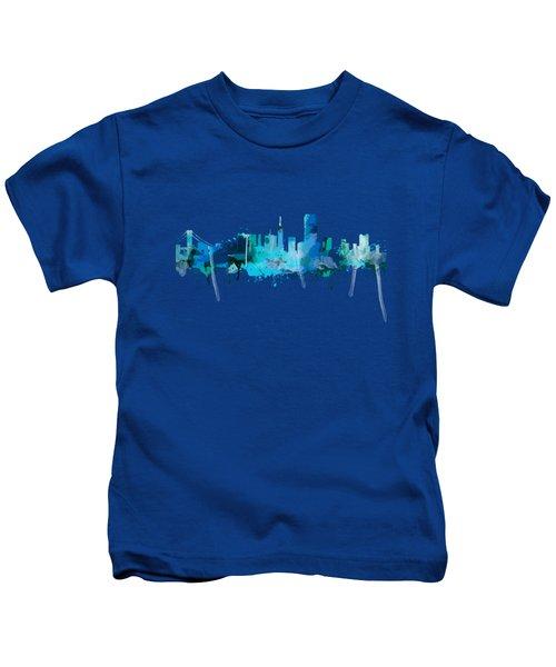 San Francisco Kids T-Shirt by Mark Ashkenazi
