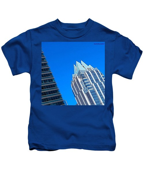 Such A Perfect #bluesky Day In Kids T-Shirt