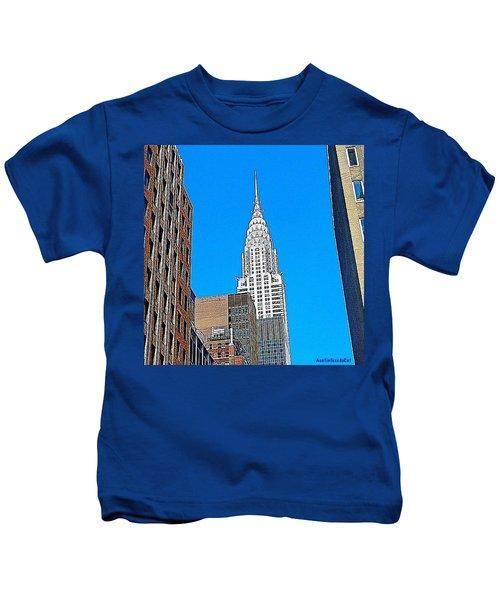 #tbt - #newyorkcity June 2013 Kids T-Shirt