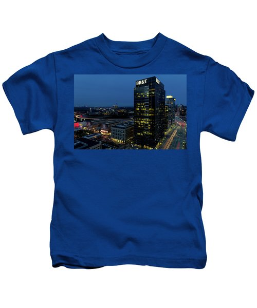 17th Street Skyline Kids T-Shirt