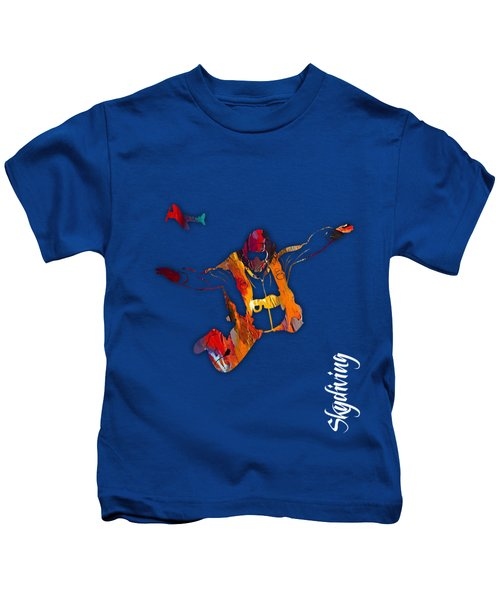 Skydiving Collection Kids T-Shirt