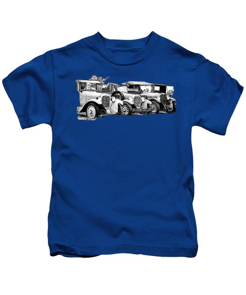 1920s Vintage Cars Kids T-Shirt