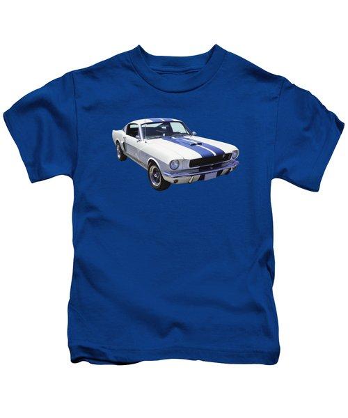 1965 Gt350 Mustang Muscle Car Kids T-Shirt