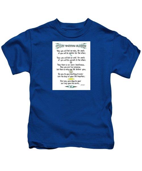 Apache Wedding Blessing Kids T-Shirt
