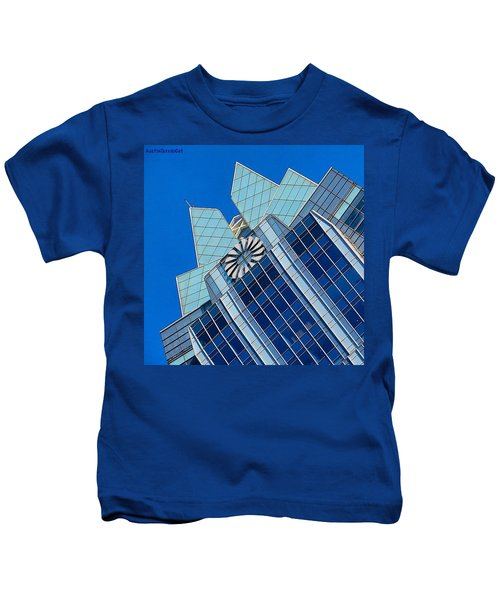 #beautiful #bluesky And The Frost Bank Kids T-Shirt