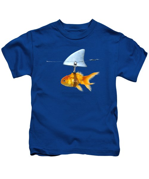 Gold Fish  Kids T-Shirt