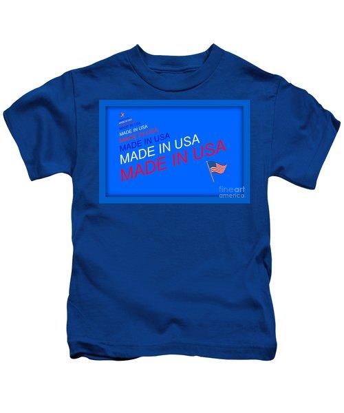 Made In Usa Kids T-Shirt