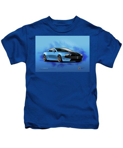 2014 Mustang  Kids T-Shirt