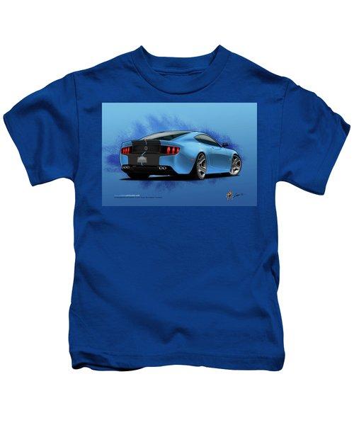 2014 Stang Rear Kids T-Shirt