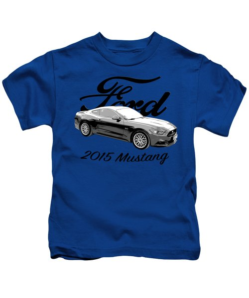 2015 Ford Mustang Kids T-Shirt