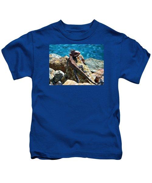 Green Iguana Kids T-Shirt