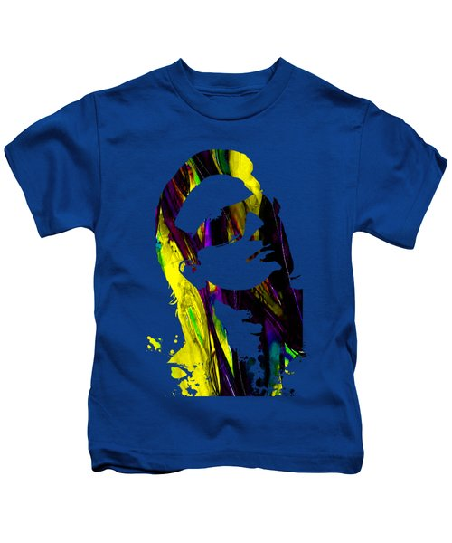 Bono Collection Kids T-Shirt by Marvin Blaine