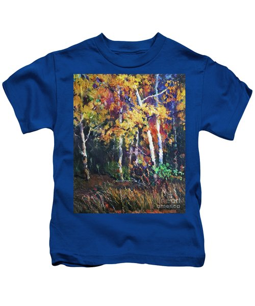 A Glance Of The Woods Kids T-Shirt