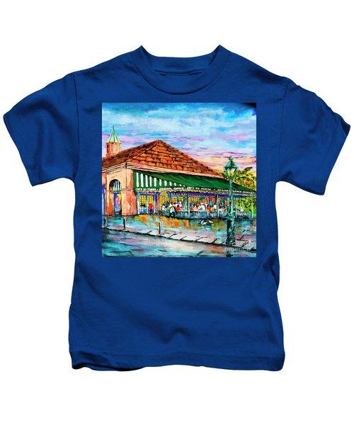 A Morning At Cafe Du Monde Kids T-Shirt