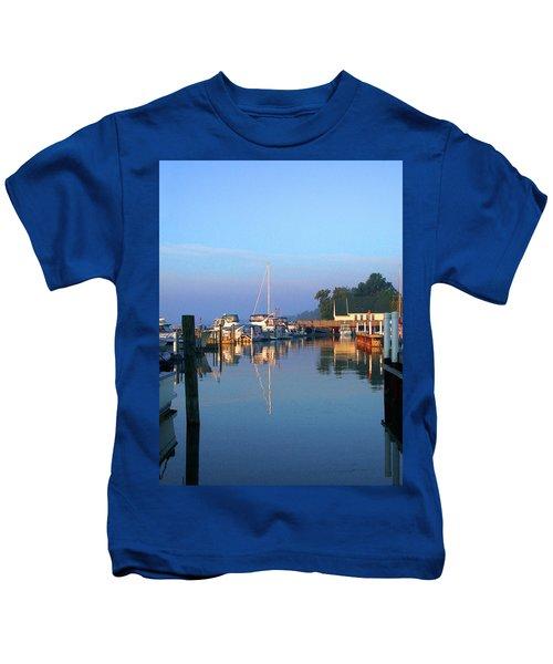 A Perfect Tawas Morning Kids T-Shirt