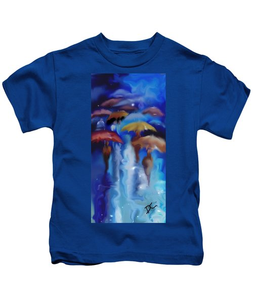 A Rainy Day In Paris Kids T-Shirt