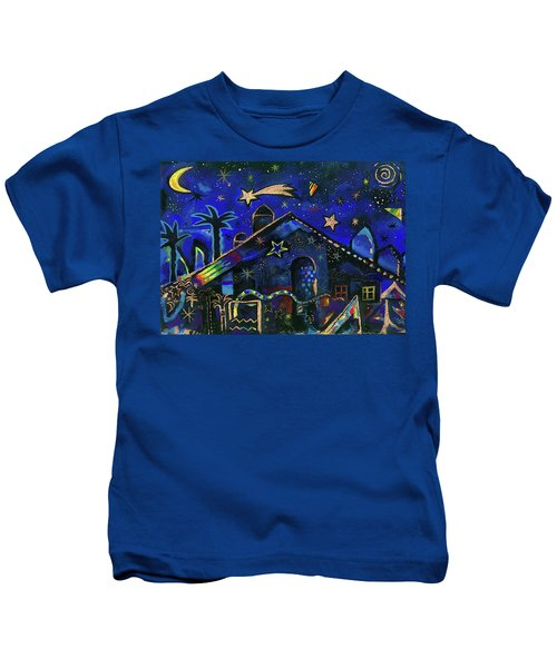 a star in Bethlehem Kids T-Shirt