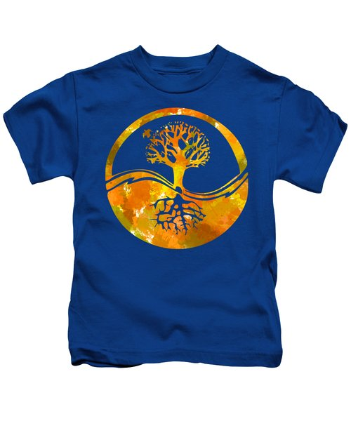Fall Abstract Kids T-Shirt