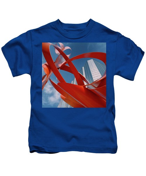 Abstract - Oklahoma City Kids T-Shirt