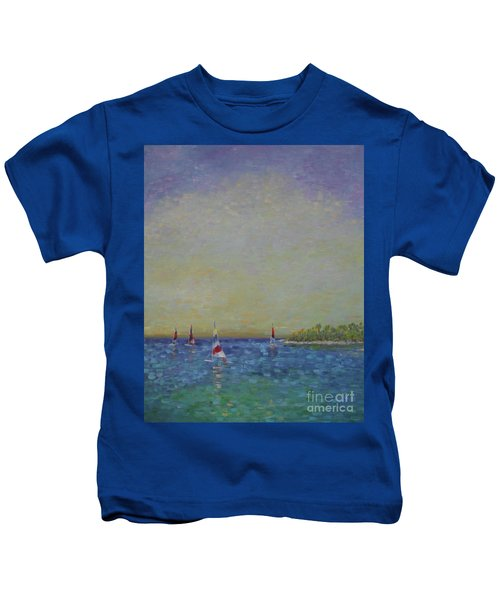 Afternoon Sailing Kids T-Shirt