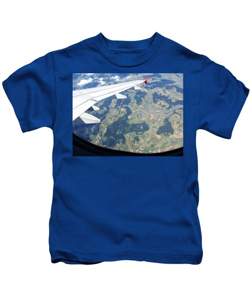 Air Berlin Over Switzerland Kids T-Shirt