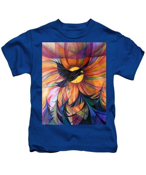 Alaska Morning Kids T-Shirt