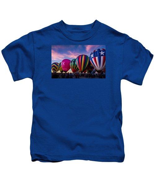 Albuquerque Hot Air Balloon Fiesta Kids T-Shirt